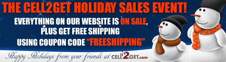 Holiday Sale - Huge Savings - Plus Free Shipping